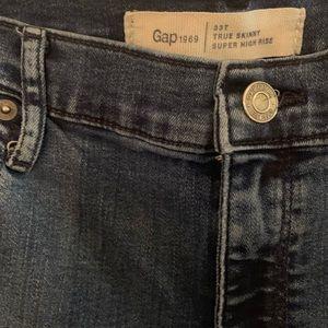 Gap True Skinny Super High Rise Tall Jeans